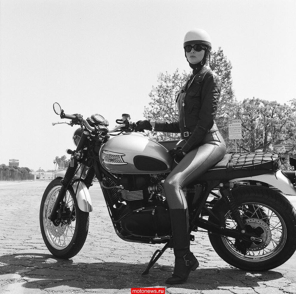 Женщины на мотоцикле секс