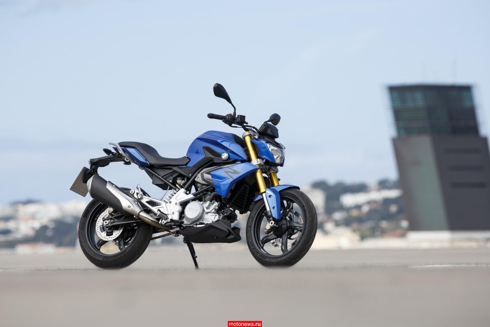 Мотоцикл БМВ g310r #10