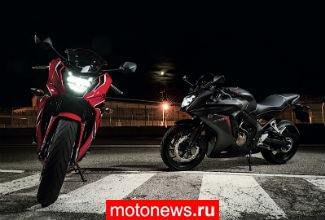 Honda представила мотоциклы CB650F и CBR650F 2018