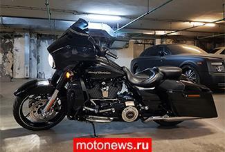 Мотоцикл на уикенд - Harley-Davidson Street Glide CVO