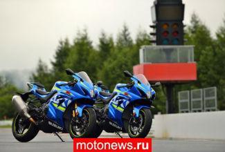 В России отозвали немного мотоциклов Suzuki