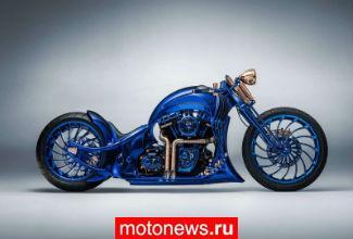 Мотоцикл Harley-Davidson и бриллианты от Bucherer...