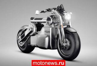 Мотоциклы Curtiss Zeus - творение бывших