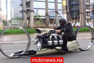 Необычный мотоцикл от пилота Формула-1