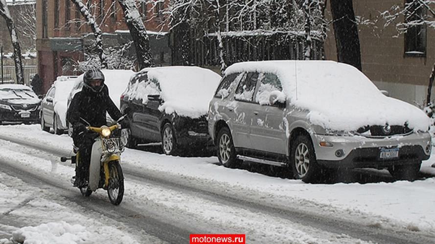 В Канаде могут запретить мотоциклы зимой