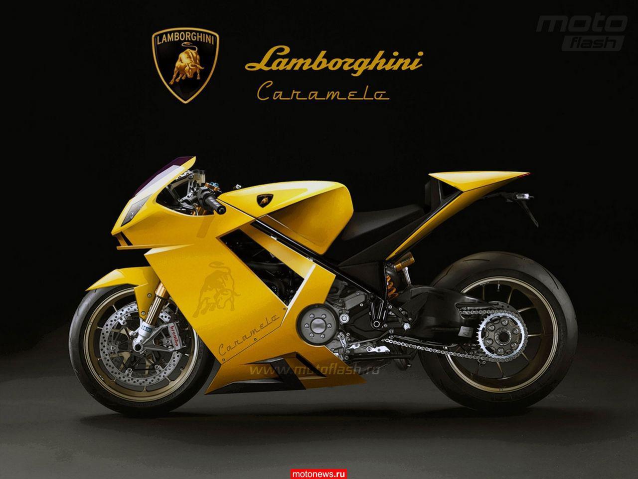 спортивный мотоцикл ламборджини фото