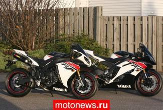Yamaha R1 и R6 в версиях special edition