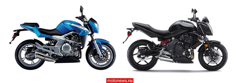 Китайский Мотоцикл замена #10