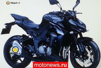 Шпионские фото нового Kawasaki Z1000