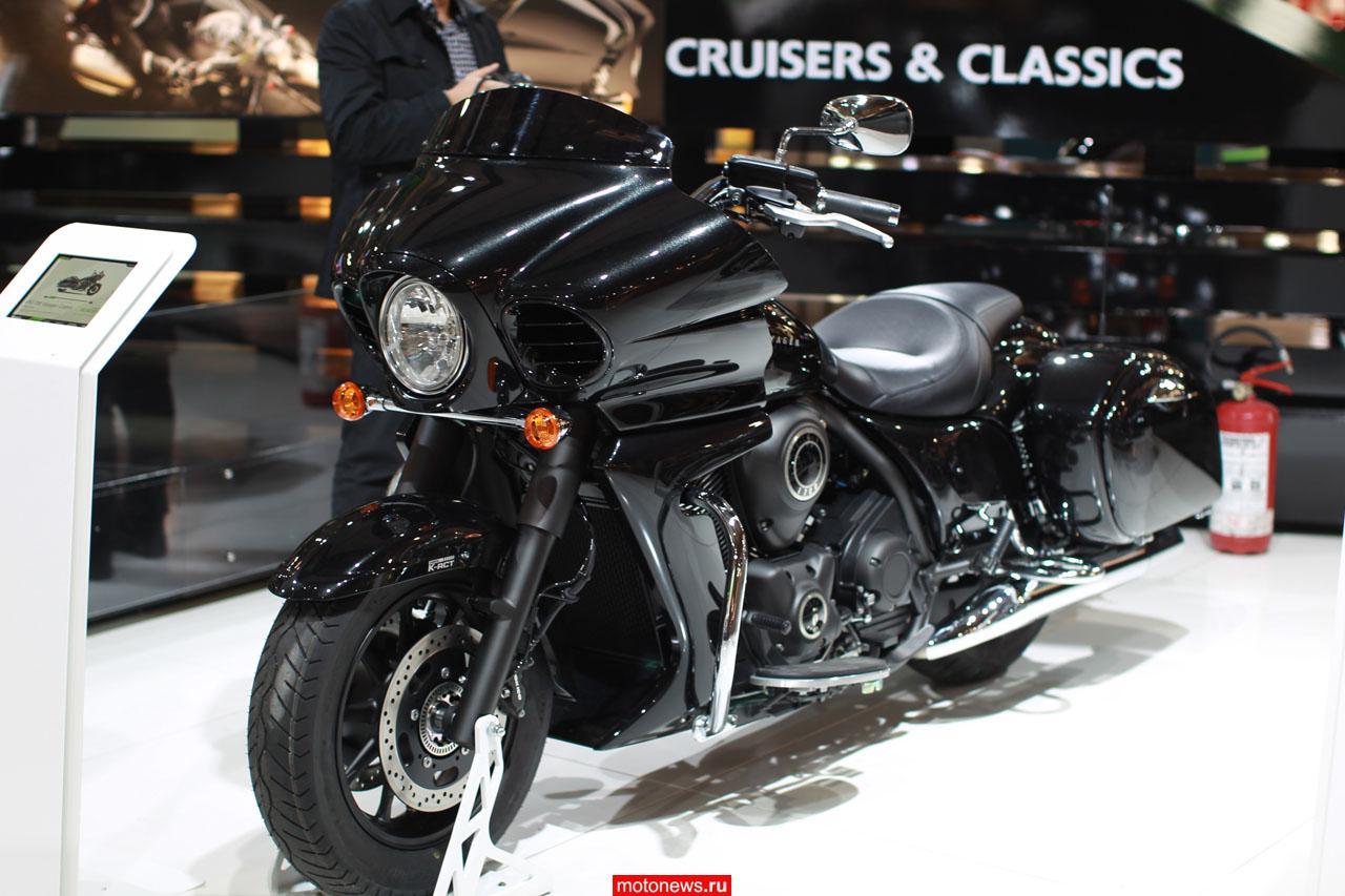 Kawasaki представила новинки следующего мотосезона