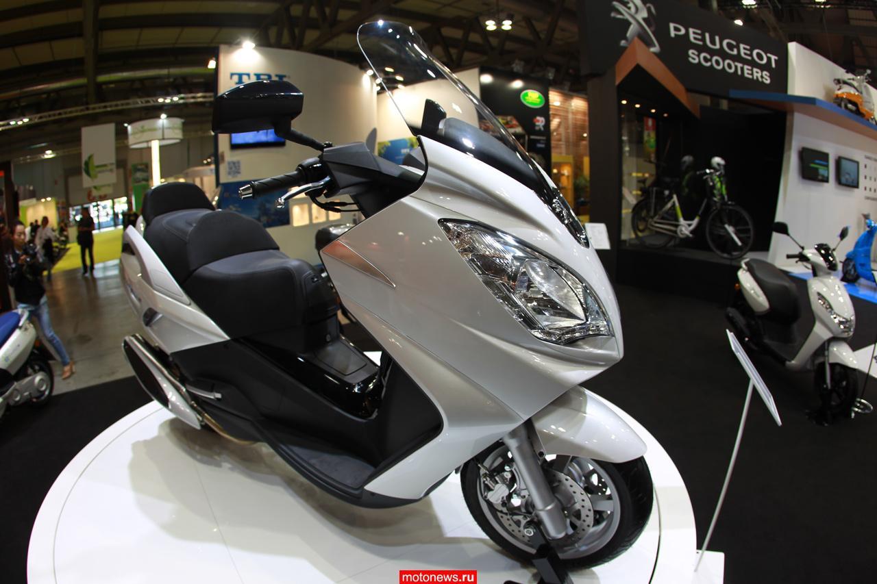 Peugeot на выставке EICMA-2013