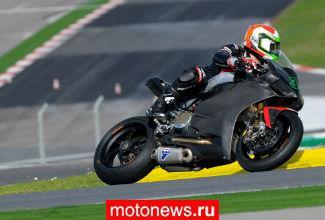 Команда Ducati в WSBK завершила тесты