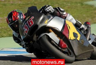 Итоги третьего дня тестов Moto2/Moto3 в Хересе