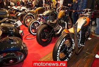 Кастом мотоциклы на «МотоПарке-2014»