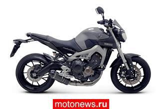 Новая система выпуска Termignoni для Yamaha MT-09
