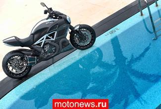 """""""Дьявольский тюнинг"""" или как индивидуализировать новый круизер Ducati Diavel"""