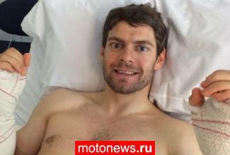 MotoGP: Кратчлоу сделали операцию на обеих руках