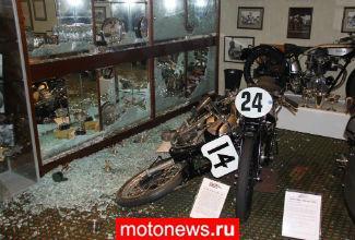 В Британии ограбили мотоциклетный музей
