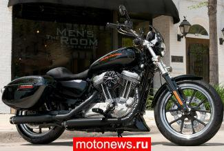 Harley-Davidson добавил в линейку 2015 года мотоцикл 883 Sportster Superlow