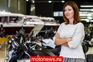 Ксения Стрелова: «Мы открыли свой самый крупный центр по продаже мототехники»