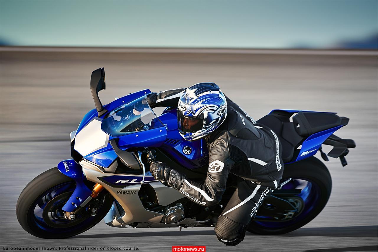Новинки EICMA-2014: мотоциклы Yamaha YZF-R1 и YZF-R1M 2015