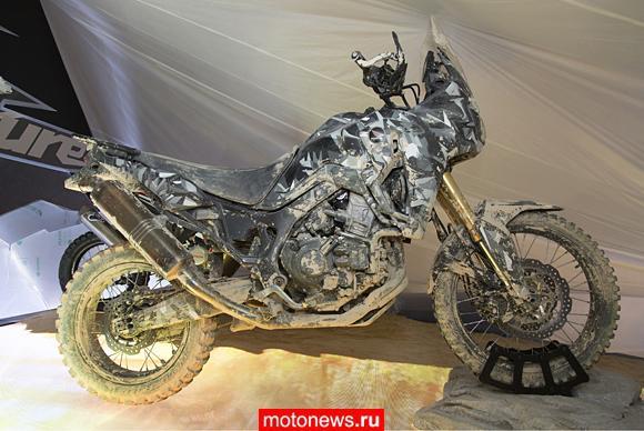 Honda показала будущий новый Africa Twin