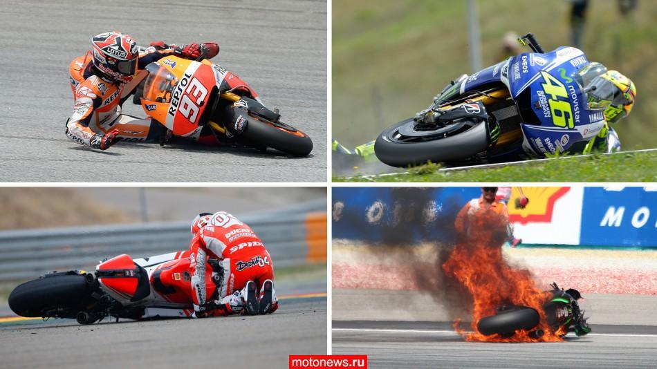 MotoGP-2014: итог по авариям