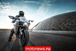 Объявлены цены на нашумевшие Kawasaki Ninja H2 и H2R