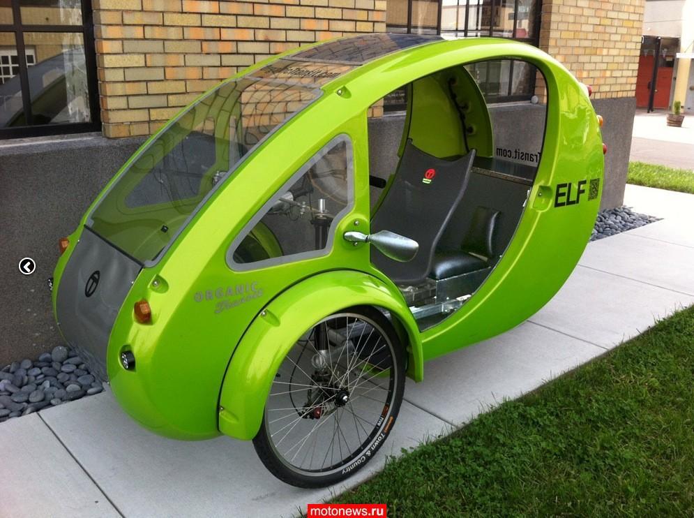Веломобиль ELF на солнечных батареях – теперь в двухместном варианте
