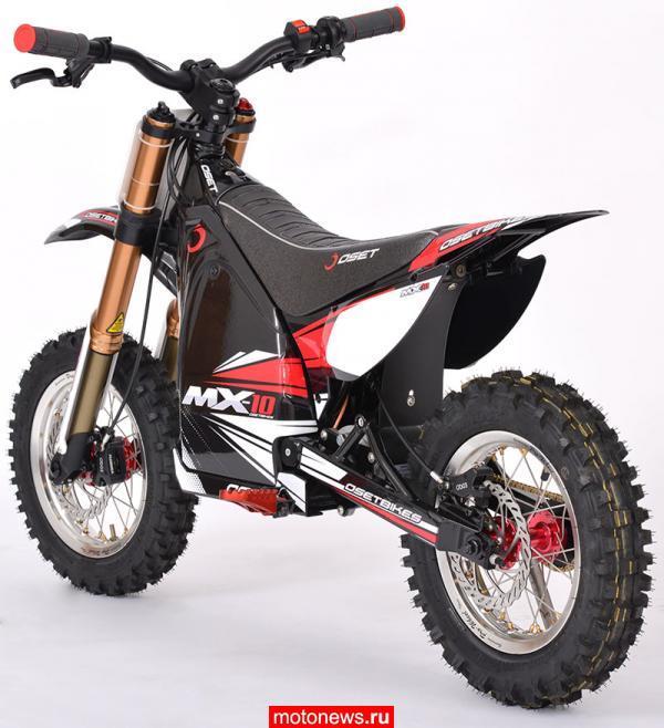 Детский электромотоцикл Oset MX-10 из Китая