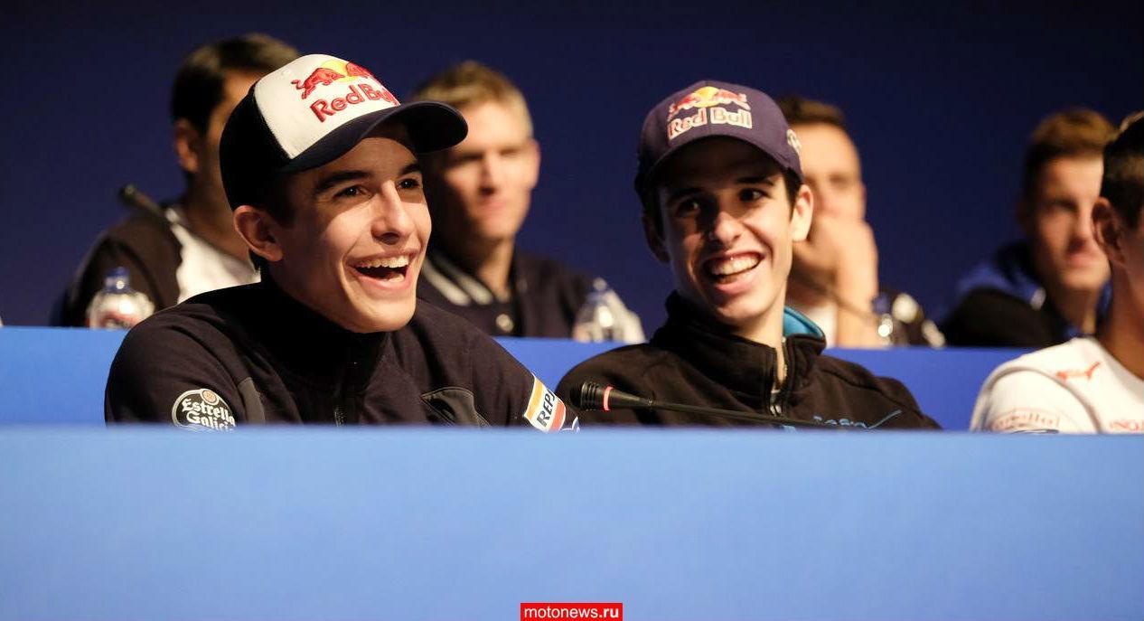 К 2017 году команду Repsol Honda могут составить два Маркеса