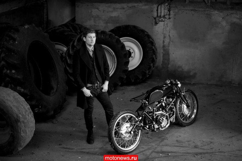 Old Empire Motorcycles переделали Ducati 900SS в Typhoon