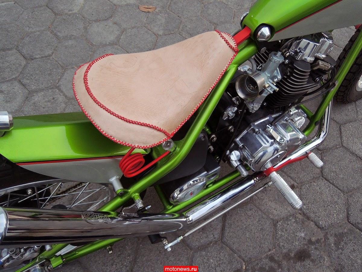 Индонезийские кастом-байки от Darizt Design