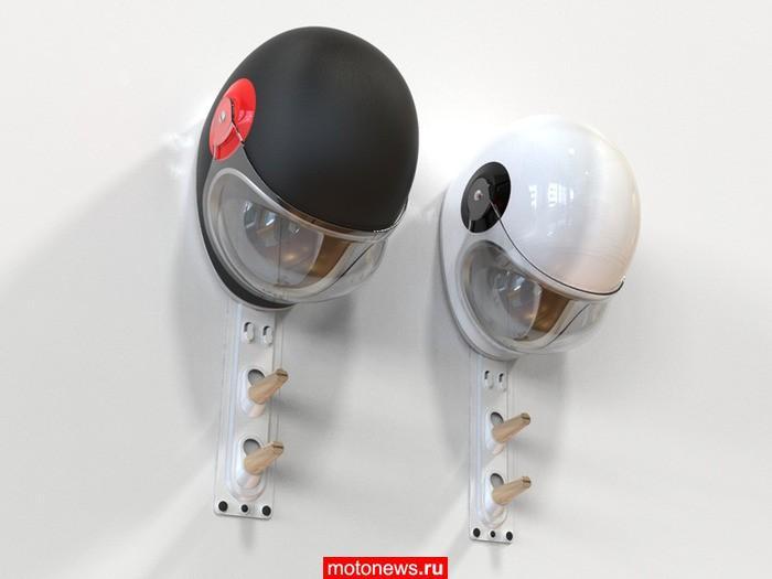 Вешалка для шлема и экипировки