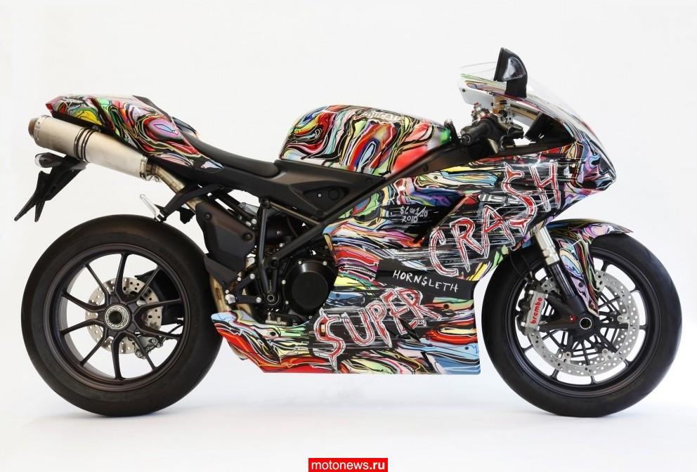 Супербайк Ducati 1198 в версии от HornSleth