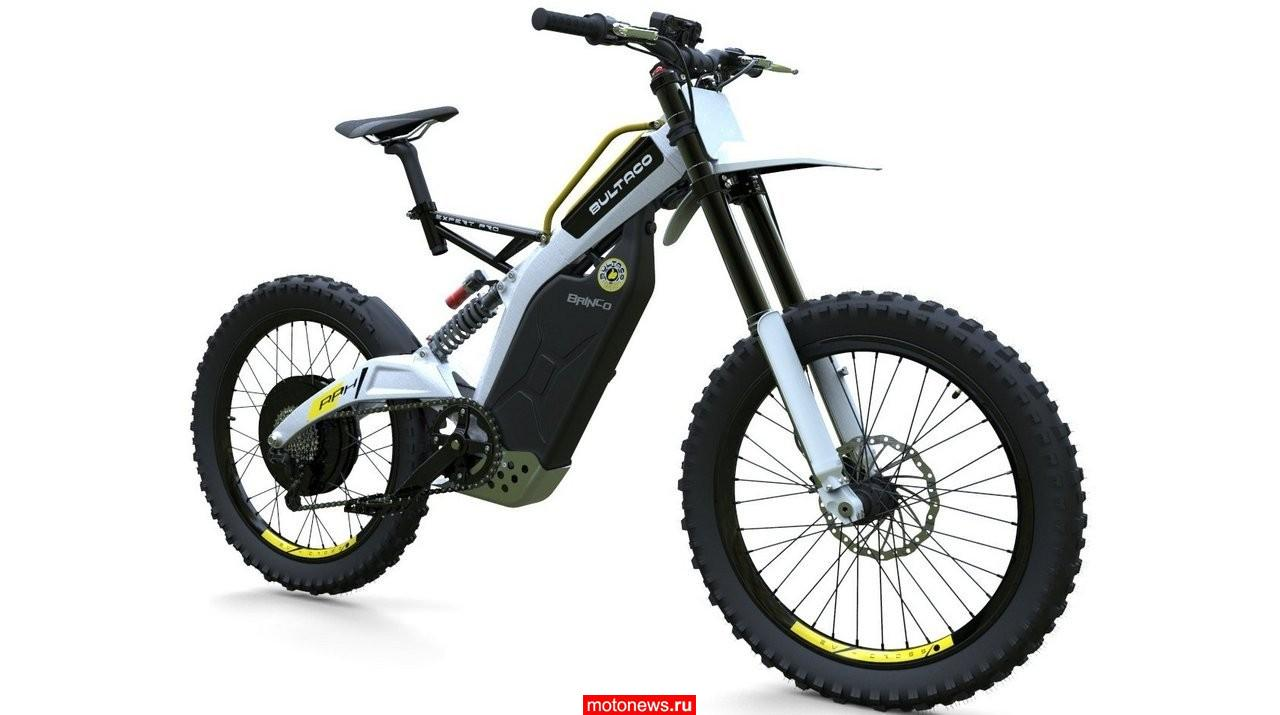 Недешевый электровелосипед от Bultaco