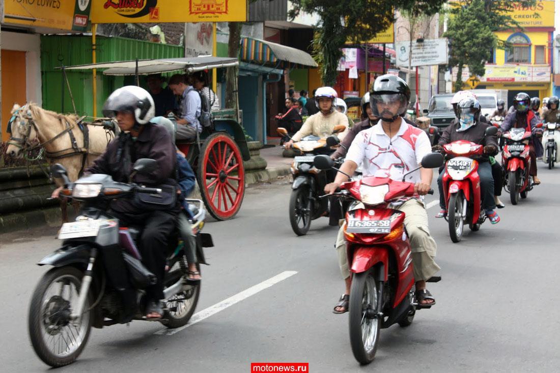 Honda расширяет производство мотоциклов в Индонезии