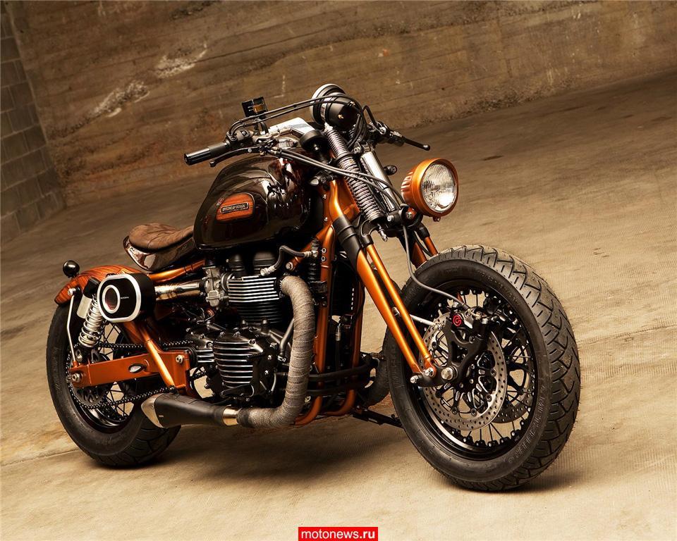 Мотоцикл Triumph Bonneville в версии Officine GP Design
