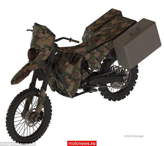 Американские военные разрабатывают бесшумные мотоциклы