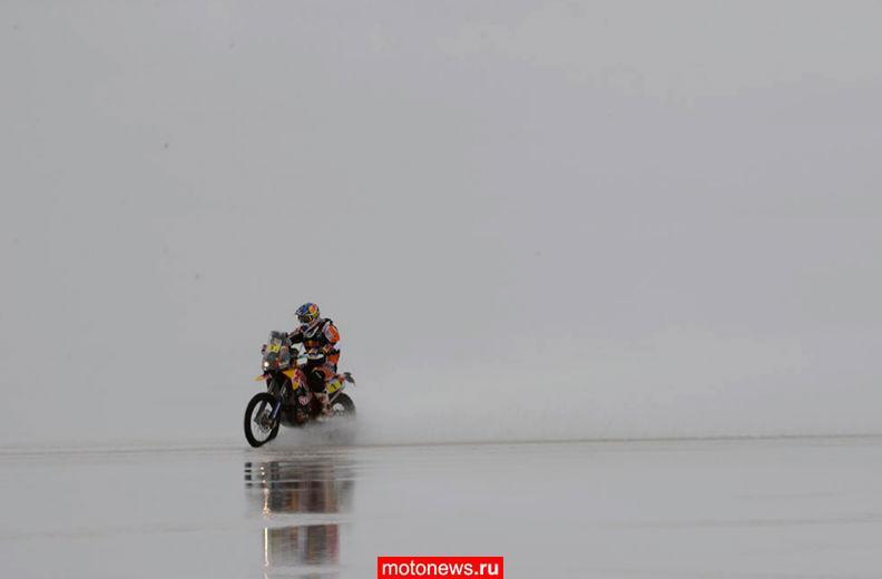 Дакар: пройден седьмой и половина восьмого этапа