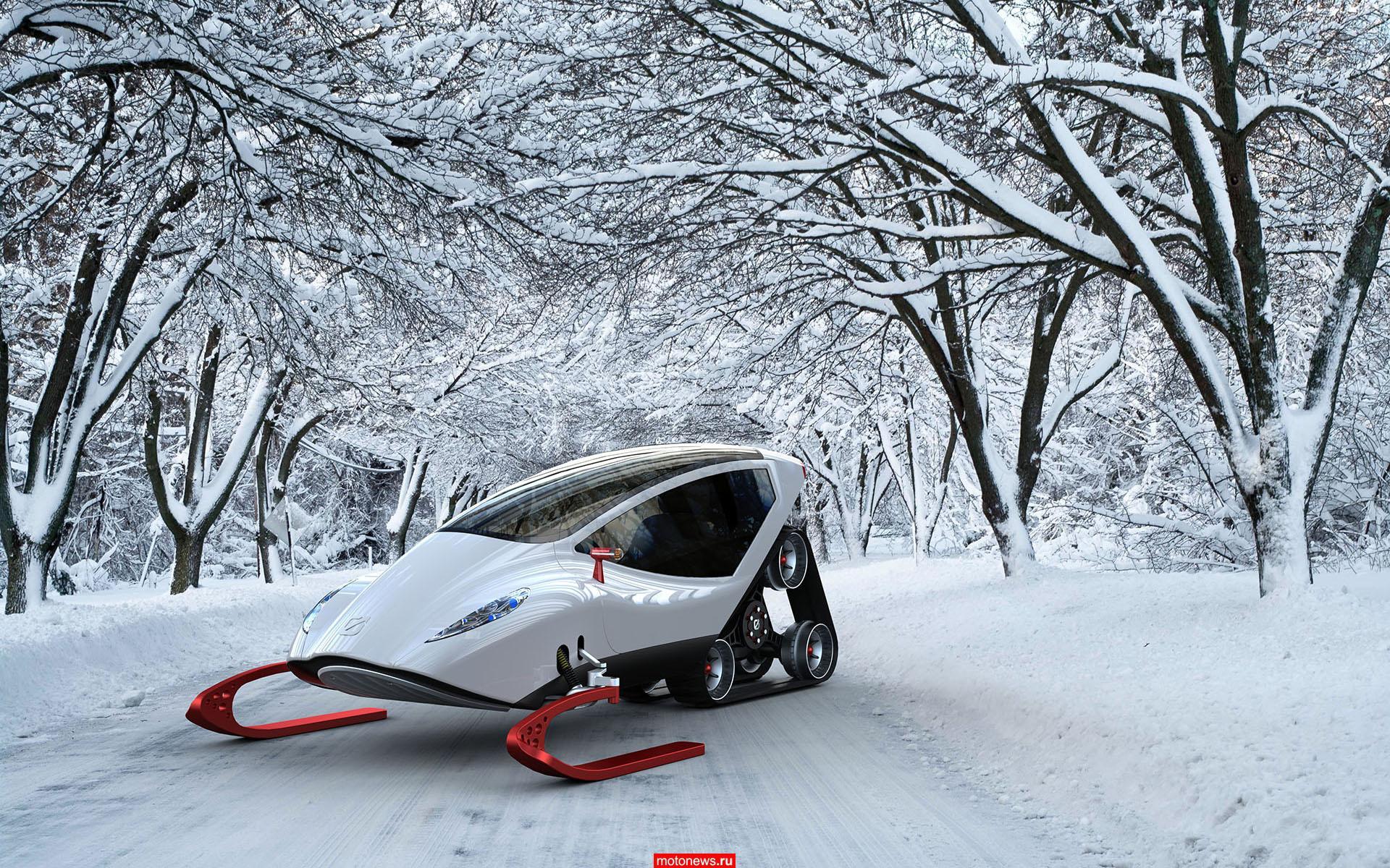 Снегоход будущего?