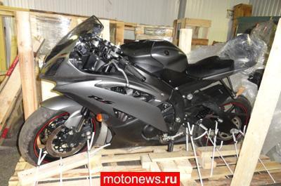 Мотоциклы, украденные в Европе, нашли в Белгороде