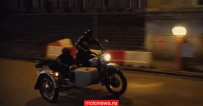 В новом фильме с Джонни Деппом гоняют на «Уралах»