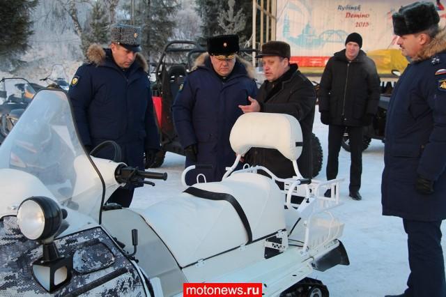 В ВДВ поступят снегоходы и UTV