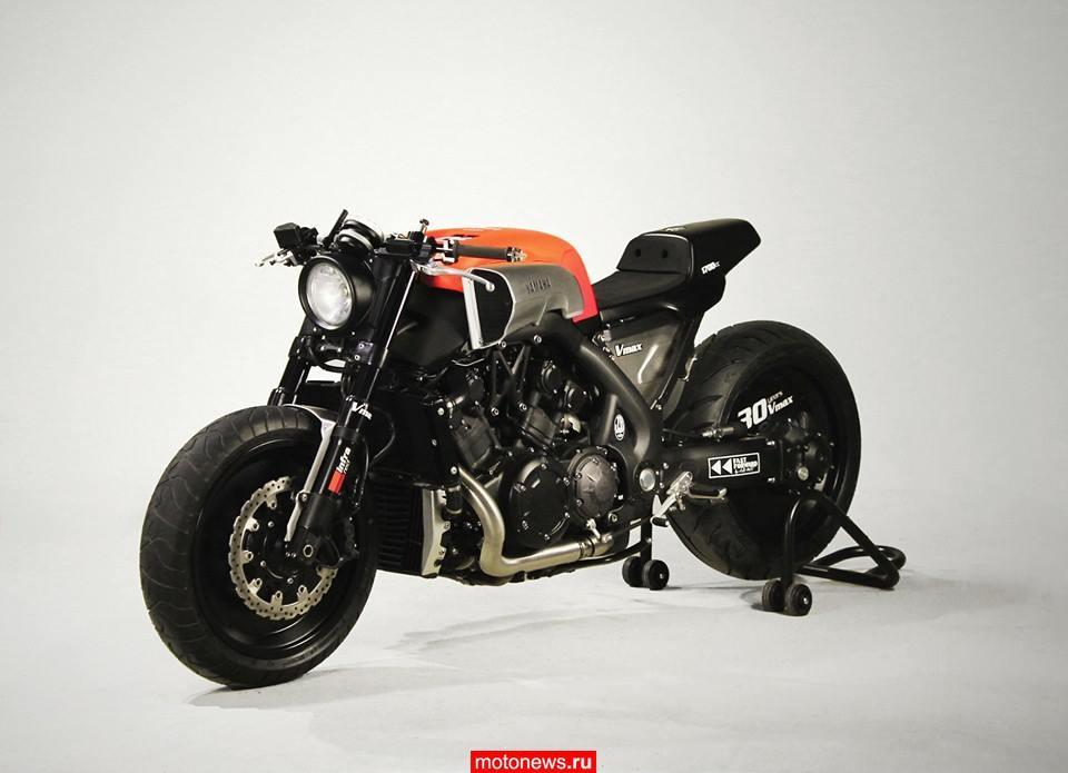 Мотоцикл Yamaha V-MAX в переделке от JvB-moto