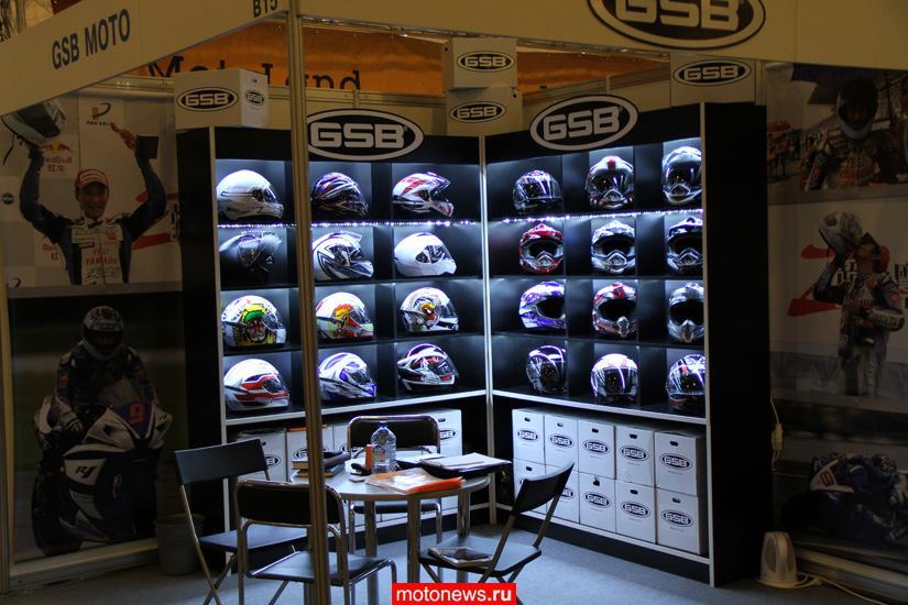 Мотошлемы марки GSB пришли в Россию