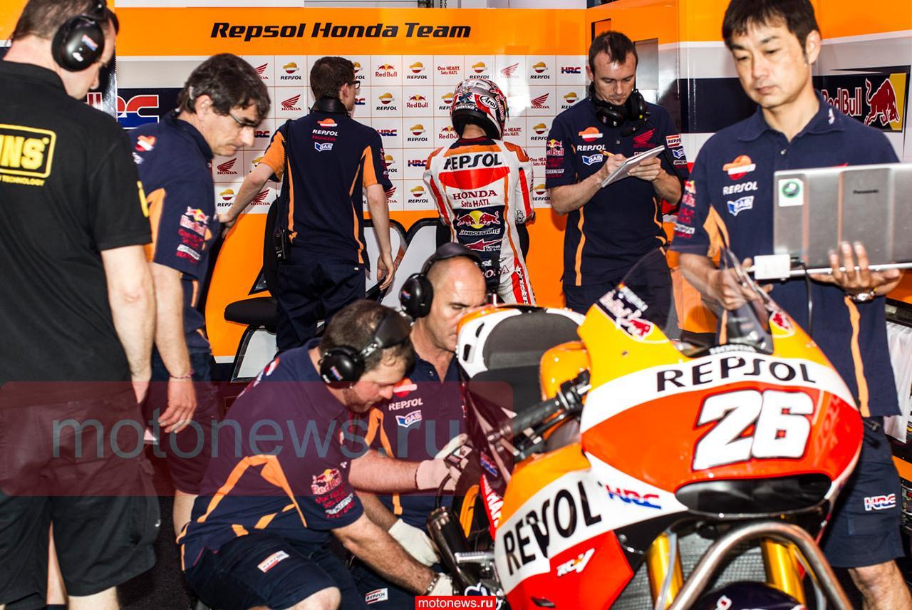 MotoGP-2015: Первый день тестов в Катаре, триумф Ducati