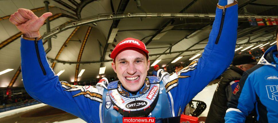 Колтаков завоевал свой первый титул
