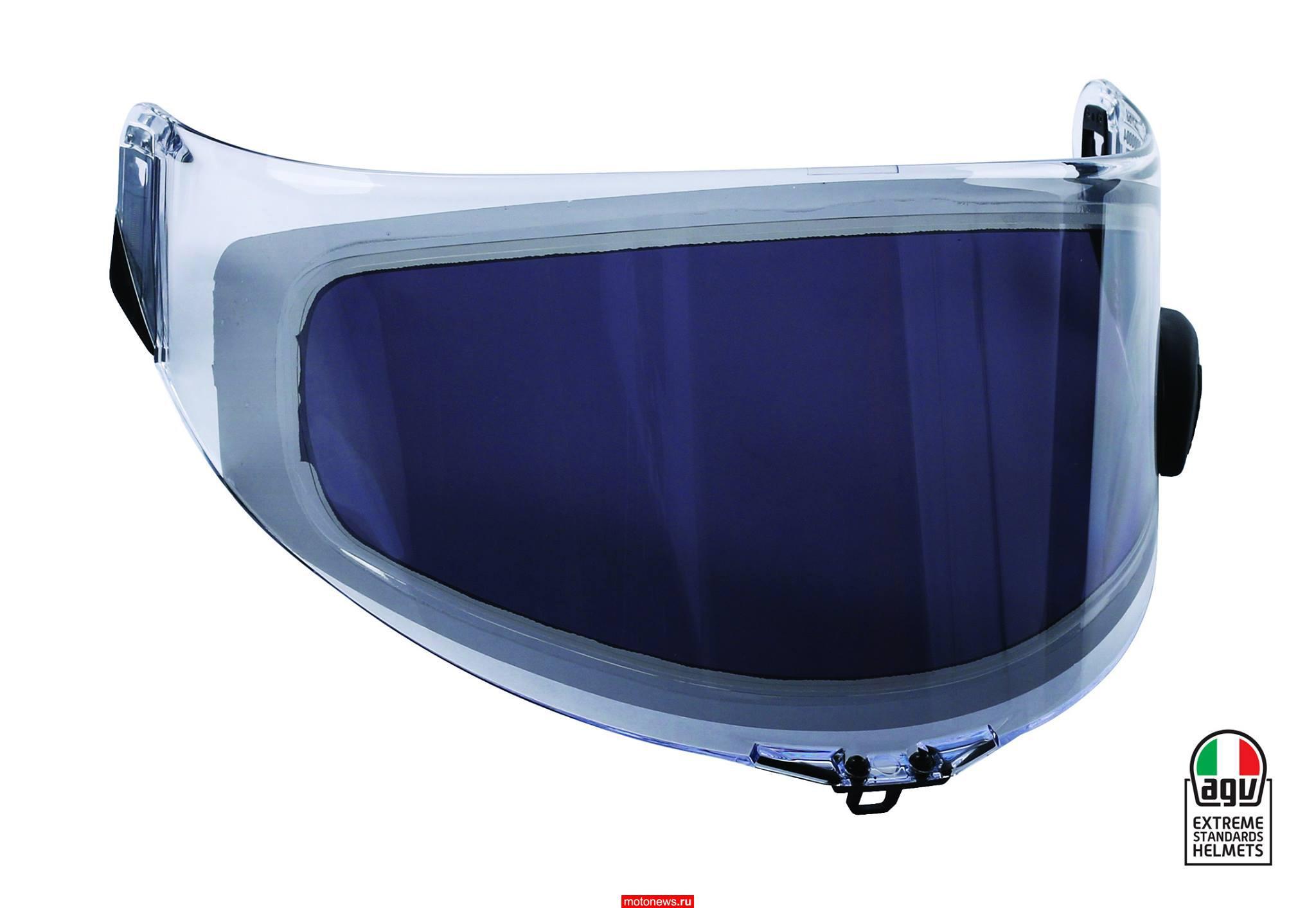 AGV представила инновационные стекла для шлемов AGVisor - с электротонировкой