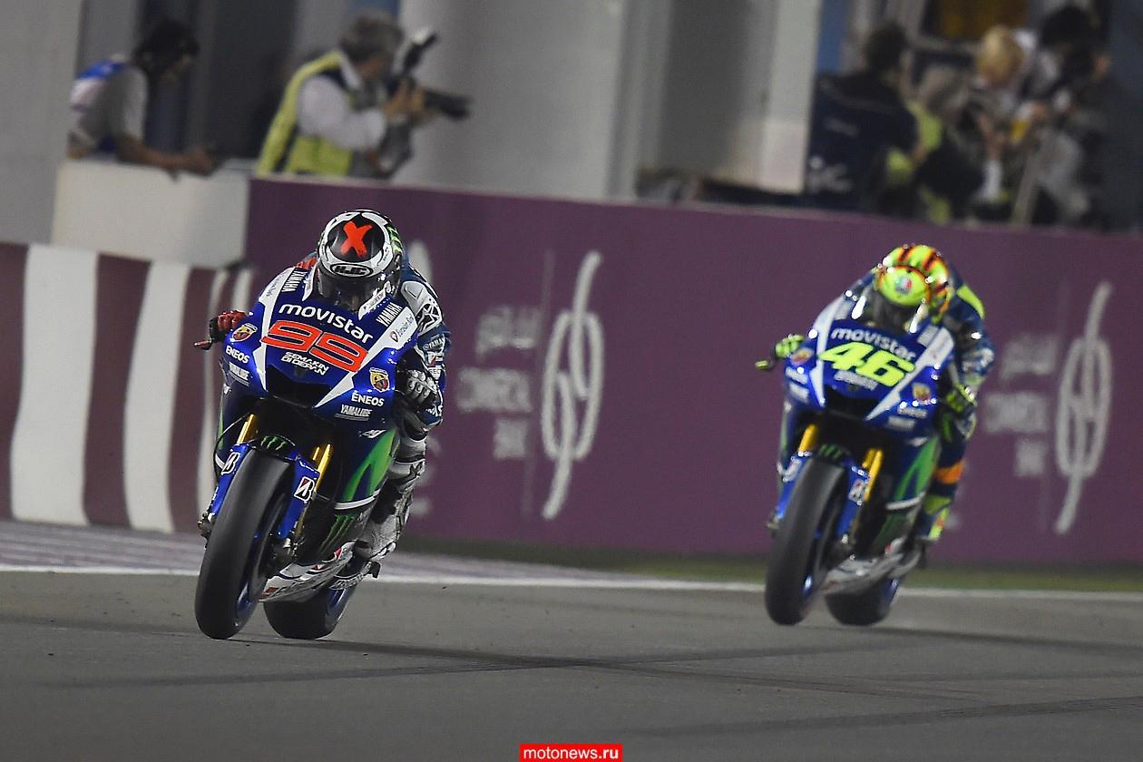 MotoGP-2015: Что думают гонщики о гонке Гран-При Катара